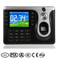 3in1 Fingerprint RFID Card Password Touch screen fingerprint biometric Automated Attendance Tracking Systems