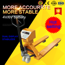 2500kg pallet jack second hand pallet truck weighing scales