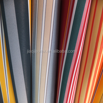 awning fabric waterproof stripe fabric,Outdoor Furniture Fabric