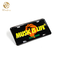 Personalized Decorative Custom Logo Metal Car License Plates