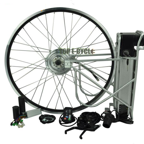 Easy Assemble Rear/Front Bicycle Electric Bicycle Ebike Front Hub Motor Kit