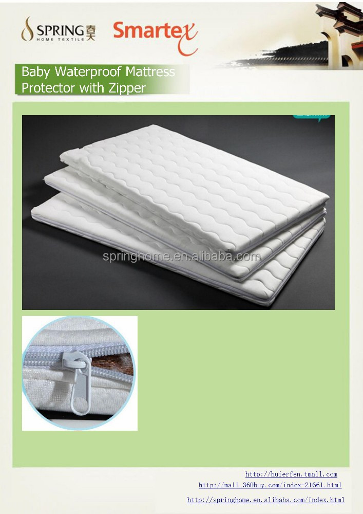 waterproof case,quilt bed cover set, quilt laminated sheet with zipper