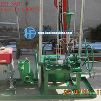 Best sale!!!small volume,easy to operate!!HF80 hand water well drilling equipment
