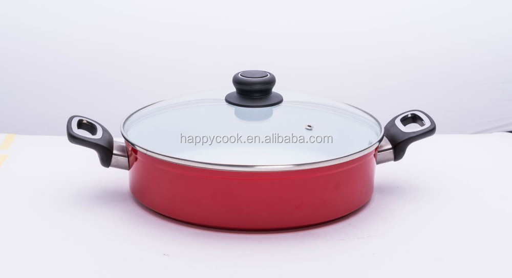 28cm Aluminium ceramic big cooking pot