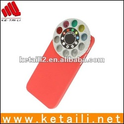2013 new arrival rotating lens cover for iphone 5
