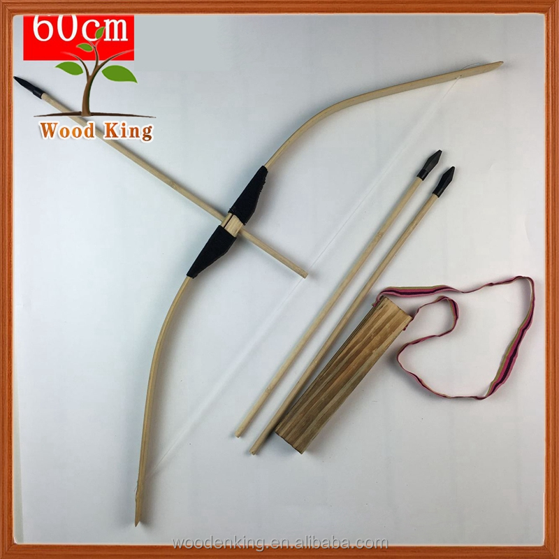 Bamboo Children'S Kids Outdoor Shooting Arts Crafts Wholesale China Toy Crossbow Bow And Arrow Toy
