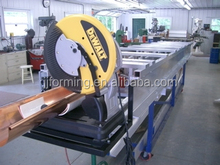 Different types of half round gutter cold roll forming machine