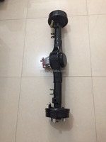 rear axle differential with differential gearbox for e-vehicle spare parts electric shaft rear bridge / rear shaft