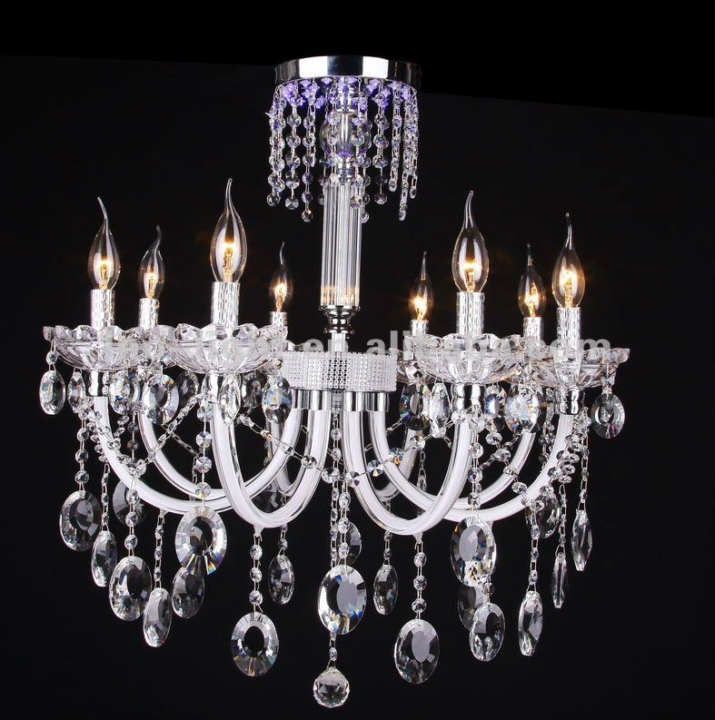 New metal ceramic flower decorative painting cheap chandelier