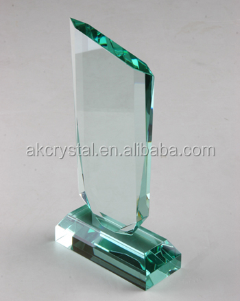 Peak shape jade awards from factory