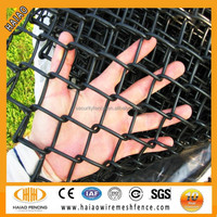 Alibaba China supplier rubber coated chain link fence