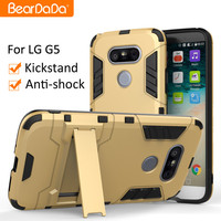 Slim Armor tpu pc Kickstand phone case for lg g5