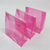 Fashion and elegant Waterproof transparent cosmetic bag lady