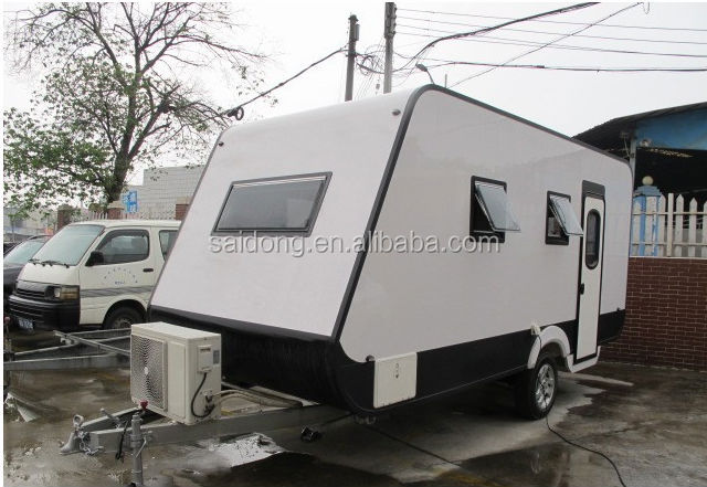 New Style Mobile Travel Trailer/RV/Caravan for Best Selling