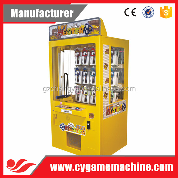 Crazy Hot Mini Key Master arcade Vending Game Machine