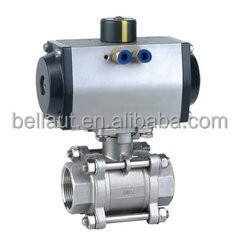 3PC Mounting Pneumatic Ball Valve,high quality Pneumatic Ball Valve