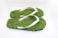 Coface Gift Use Helathy/Cheap Fake Grass Slippers