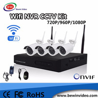 CCTV security Camera system outdoor 4ch wifi nvr wireless kits cctv kit