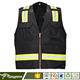 Safety vests high light reflective stripes for clothing
