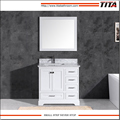 Popular American Style white lacquer bathroom vanity T9311-36W