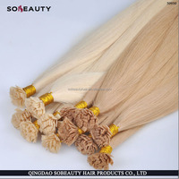 YBY Factory wholesale remy human hair pre-bonding hair extension itip/utip/vtip/flat tip/nano tip hair products