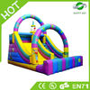 High Quality big inflatable slide,giant inflatable hippo slide,inflatable fire truck slide