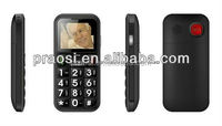 SOS emergency call function senior cell phone, talking voice keypad / buttons senior mobile phone