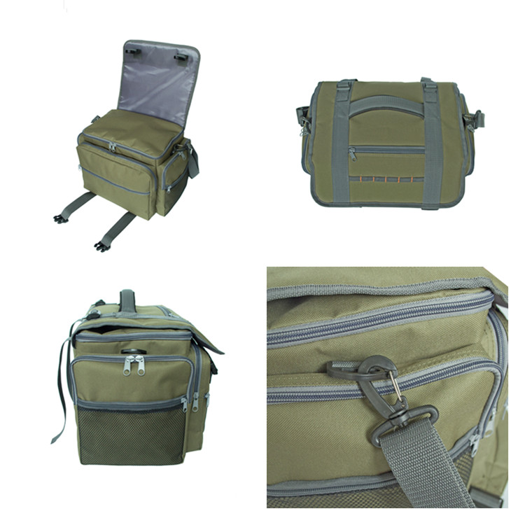 Outdoor Multi-purpose Water-resistant Portable Fishing Tackle Bag