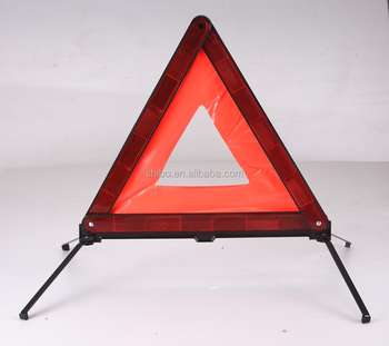 Warning triangle with E-MARK for car using(JM-D7)