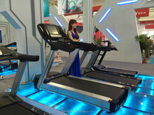 2014 new 6.0HP AC commercial treadmill with TV Yeejoo-S600