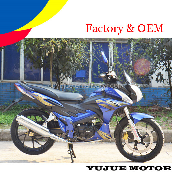 Best selling 4-stroke motorcycle/motos/125cc super pocket bikes