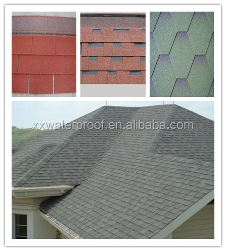 all types roofing asphalt shingles