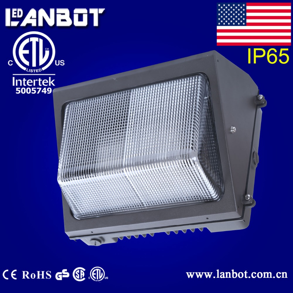80 WATT Outdoor LED Wall Pack Lighting Wallpack 120V Photocell IP65 High Lumen Replace 80W to 150W HID HPS Light SECURITY LIGHT