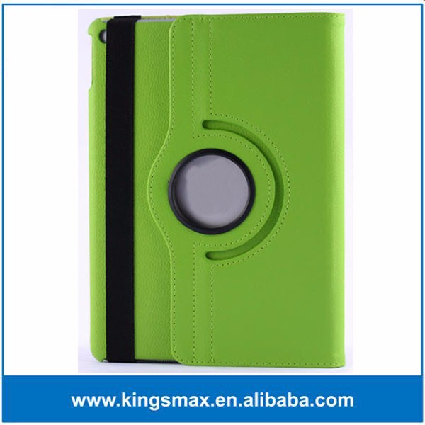 Green Litchi PU Leather Cover Case for iPad 5th Generation for iPad Air Tablet Case