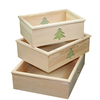 Custom made eco-friendly rustic gift wooden vegetable crates wholesale
