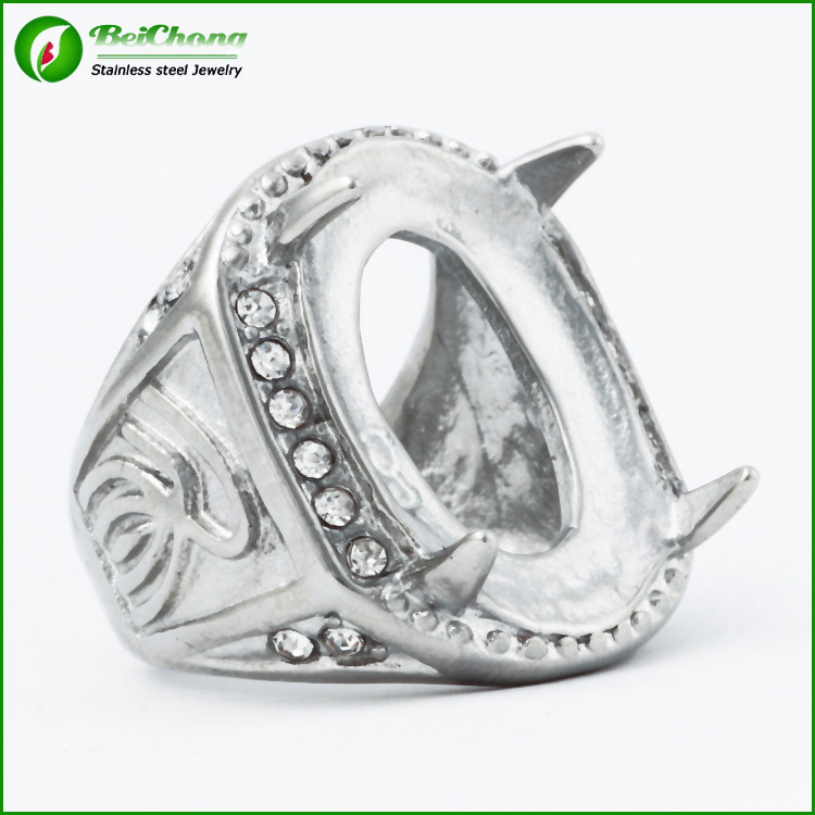 Hot selling Stainless Steel wedding ring indonesia wholesale Jewelry J4-0148