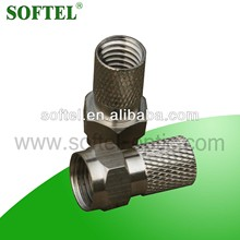 SF005 twist lock connectors,easy lock connector/rg11 conector,rg6 f connector/conectores rg6