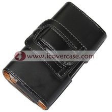 Holster Case For iPhone 4s, with Belt Clip Leather Case for iPhone 4