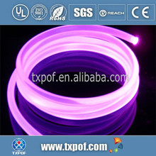 4.0mm Side Glow PMMA Fiber Optic Cable for car light Star Ceiling Fibe