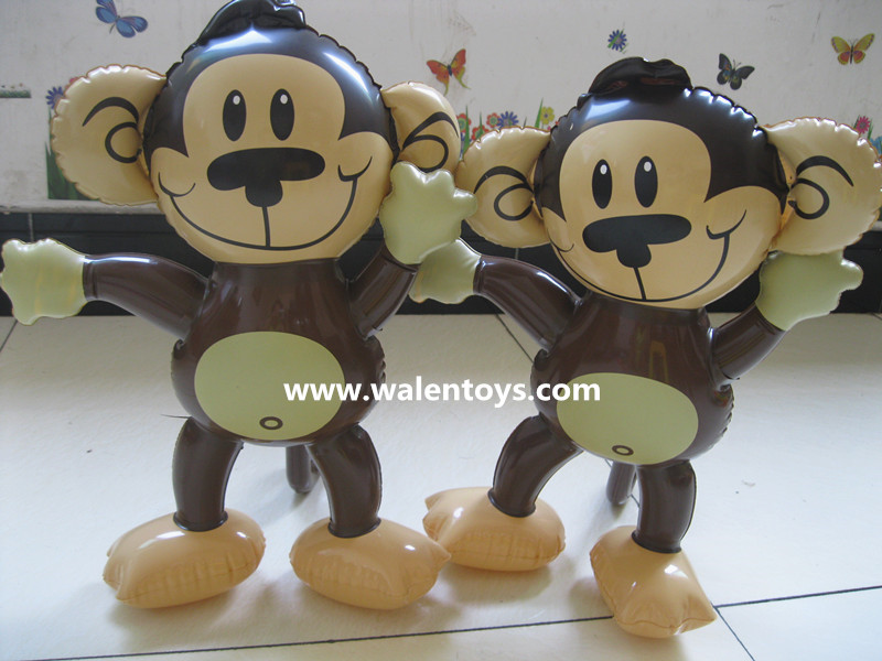 MONKEY Jungle Zoo Animal INFLATABLE Blow Up Kids Toys,inflatable monkey