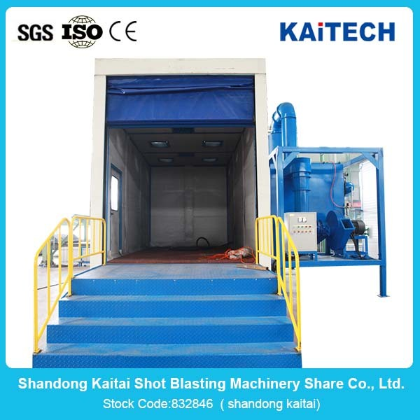 Abrasive Automatic Air Sand Blasting Cleaning Room