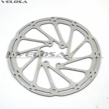 high quality MTB/road disc brake/cyclocross bicycle brake disc, 6-bolt,Centerline 160 180 mm bike brake rotor