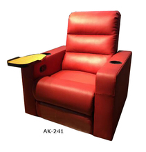 Electric recliner sofa with cup holder food table and USB
