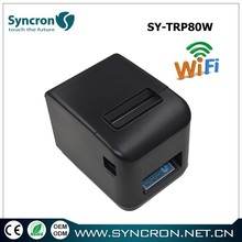 Supermarket and restaurant pos thermal printer 80mm wifi thermal receipt printer