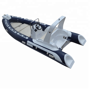 CE 100hp outboard engine 5.2m pvc or hypalon luxury yacht