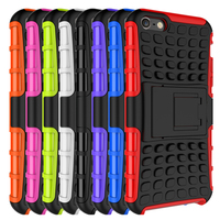 Heavy Duty Tough Shockproof Hybrid Outdoor Case with Stand for Apple iPhone SE 2016 / 5S / 5