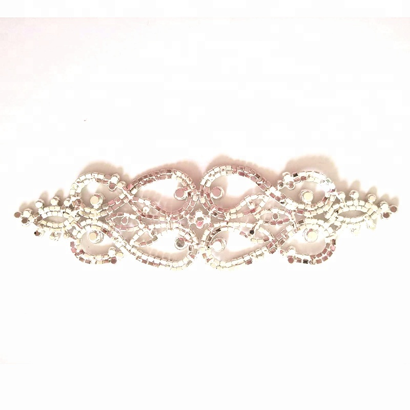 Bridal Rhinestone Applique Wedding <strong>Crystal</strong> for garment accessories