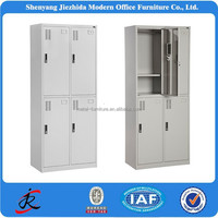 bedroom furniture 4 door wardrobe change room school metal steel high quality locker