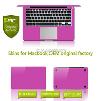 JRC Matellic Color Laptop Skin Sticker Body Protector for Macbook