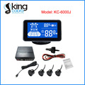 LCD Display Waterproof Car Rear Parking Sensor